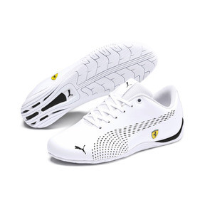 Thumbnail 2 of Scuderia Ferrari Drift Cat 5 Ultra II Shoes JR, Puma White-Puma Black, medium