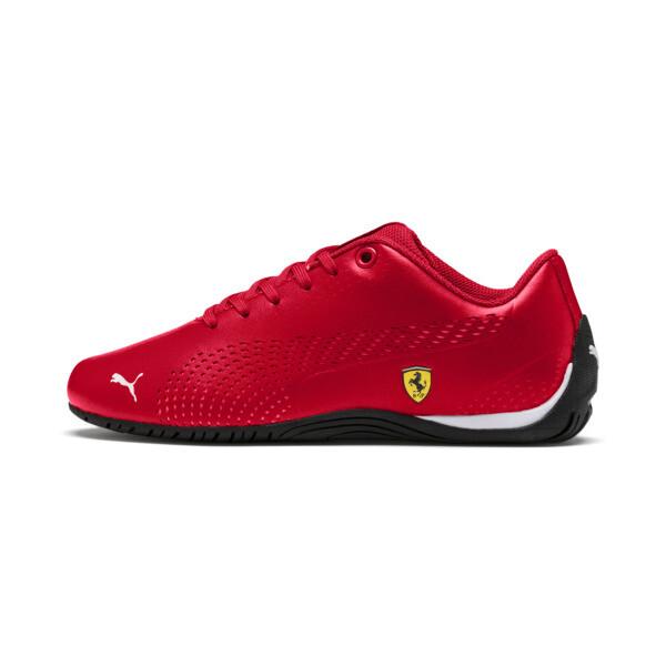 Scuderia Ferrari Drift Cat 5 Ultra II Shoes JR, Rosso Corsa-Puma White, large