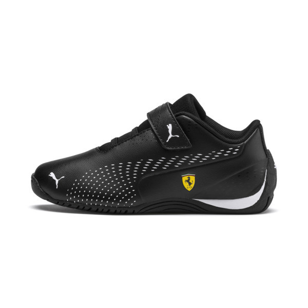 Ferrari Drift Cat 5 Ultra II V Kids' Trainers, Wit/Zwart, Maat 28.5 | PUMA