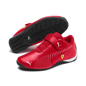 Thumbnail 2 of Ferrari Drift Cat 5 Ultra II V Kids' Trainers, Rosso Corsa-Puma White, medium