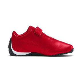 Thumbnail 5 of Ferrari Drift Cat 5 Ultra II V Kids' Trainers, Rosso Corsa-Puma White, medium