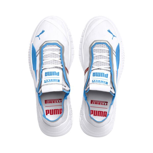 Pirelli Replicat-X Trainers, Puma White-AZURE BLUE, large