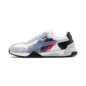 Thumbnail 1 of BMW M Motorsport Speed HYBRID Trainers, White-Glacier Gray-Black, medium
