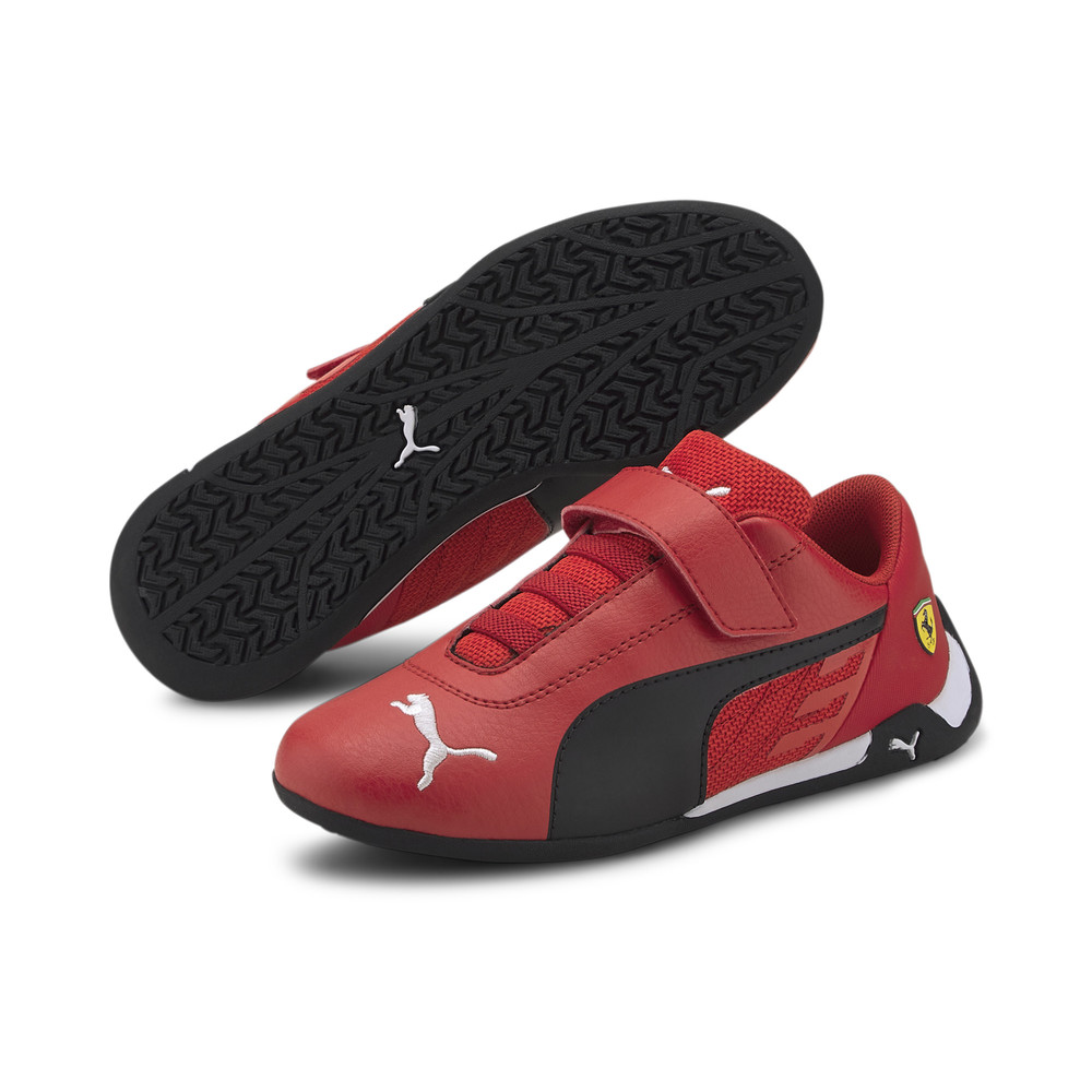 Image Puma Scuderia Ferrari Race R-Cat Kids' Motorsport Shoes #2