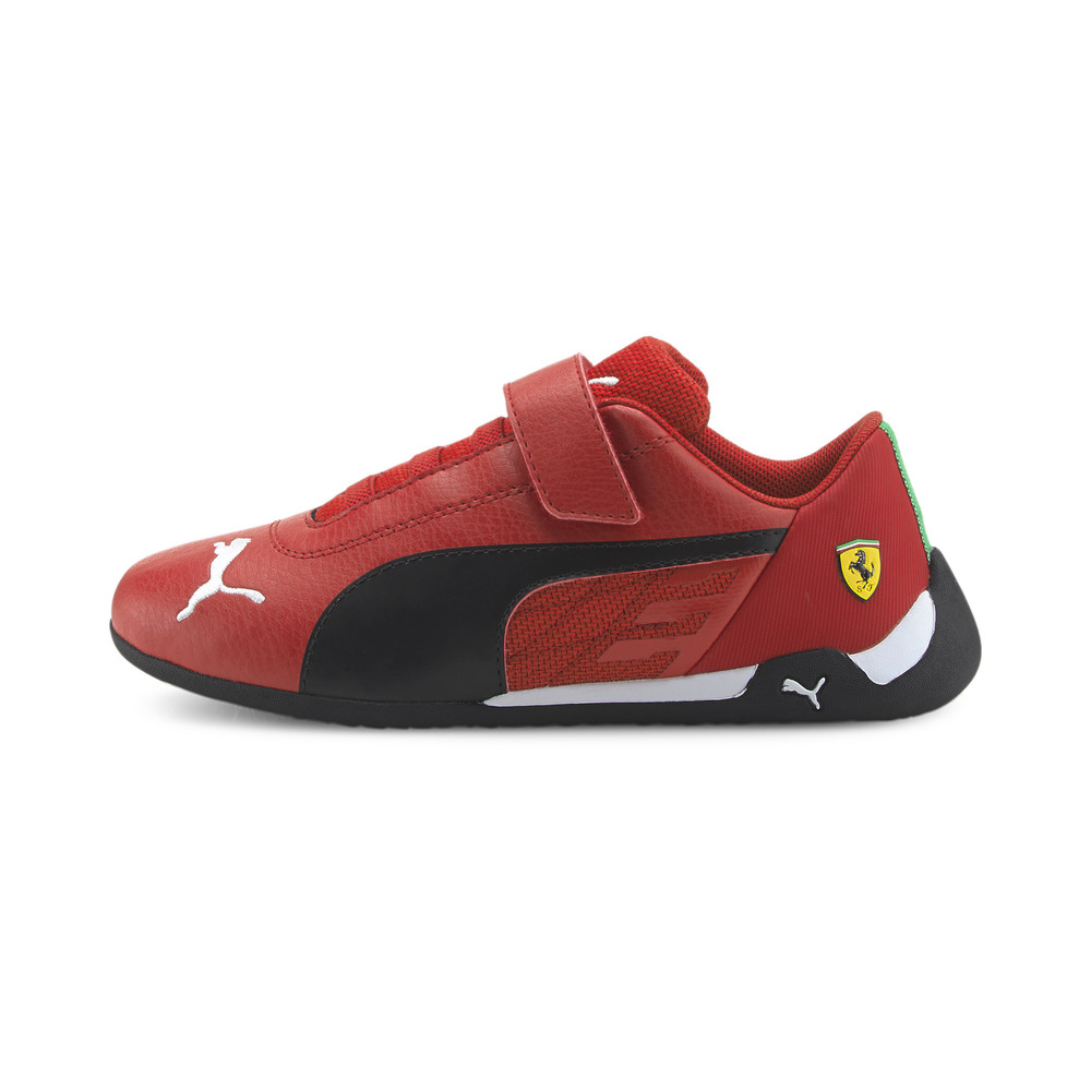 Image Puma Scuderia Ferrari Race R-Cat Kids' Motorsport Shoes #1