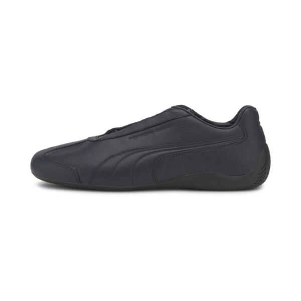 puma porsche design speedcat leather men's motorsport shoes in dark blue, size 8.5