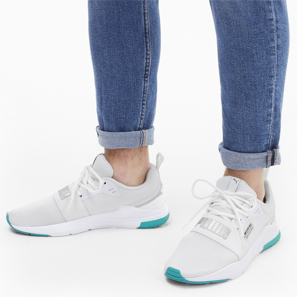 Image Puma Mercedes Wired Run Trainers #2