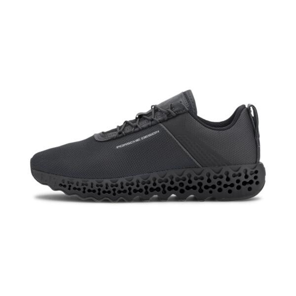 puma porsche design xetic gid men's motorsport shoes in asphalt grey, size 10.5