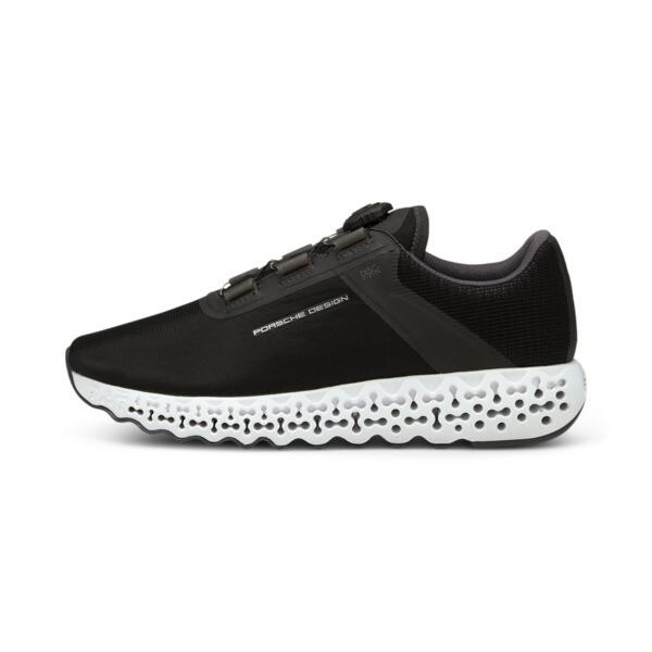 puma porsche design rct men's shoes in jet black, size 8