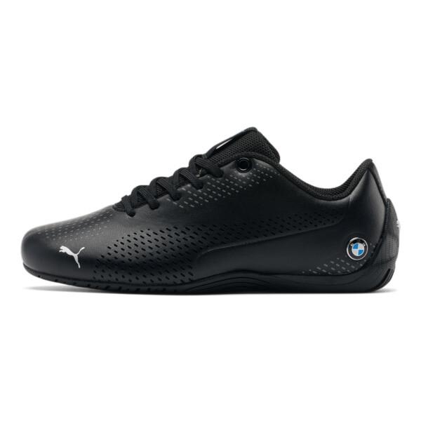 Zapatos BMW M Motorsport Drift Cat5 Ultra II para joven, Puma Black-Puma Black, grande