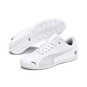 Thumbnail 2 of BMW M Motorsport Drift Cat 5 Ultra II Shoes JR, Puma White-Puma Black, medium