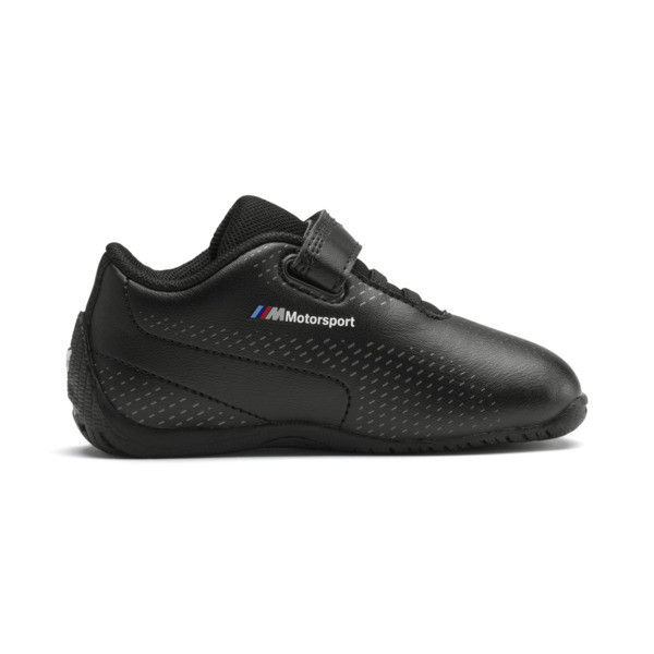 BMW M Motorsport Drift Cat 5 Ultra II Toddler Shoes, Puma Black-Puma Black, large