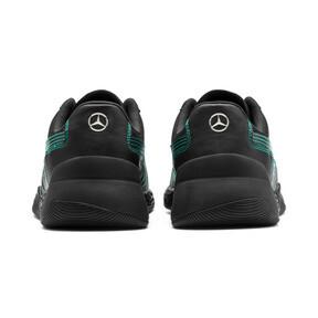 Thumbnail 4 of Mercedes AMG Petronas Motorsport Speed HYBRID Herren Sneaker, Puma Black-Spectra Green, medium