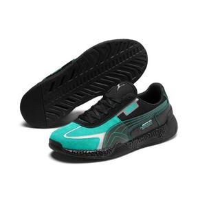 Thumbnail 3 of Mercedes AMG Petronas Motorsport Speed HYBRID Herren Sneaker, Puma Black-Spectra Green, medium