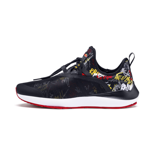 Red Bull Racing Evo Cat II Graphic Men's Training Shoes, NIGHT SKY-White-Chinese Red, large