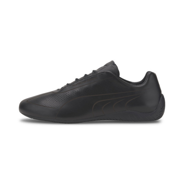 Porsche Design Speedcat Lux Men's Shoes, Jet Black-Jet Black-Jet Blk, large