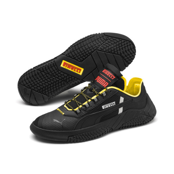 Pirelli Replicat-X Sneakers, Black-Black-Cyber Yellow, large