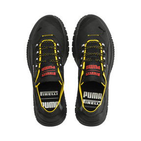 Thumbnail 6 of Replicat-X Pirelli Sneakers, Black-Black-Cyber Yellow, medium