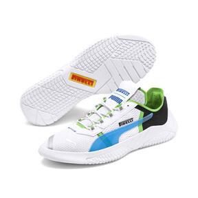 Thumbnail 3 of Replicat-X Pirelli Motorsport Shoes, White-Black-Classic Green, medium