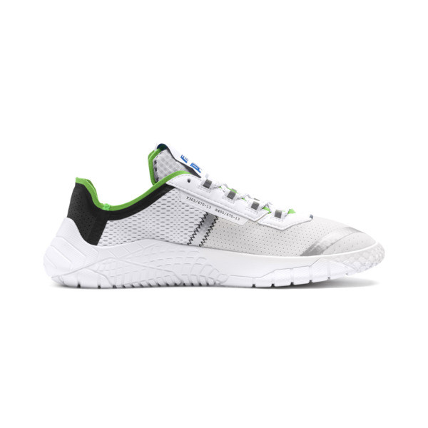 Replicat-X Pirelli Sneakers, White-Black-Classic Green, large