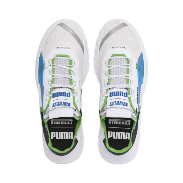 PUMA x PIRELLI レプリキャット X スニーカー, White-Black-Classic Green, large-JPN