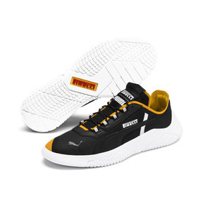 Thumbnail 3 of Replicat-X Pirelli Motorsport Shoes, Puma Black-Puma White-Zinnia, medium