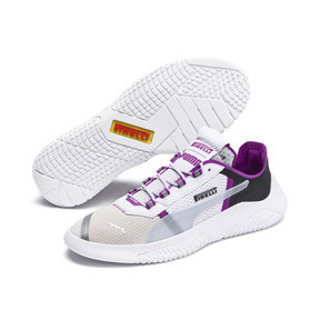 Thumbnail 2 of PUMA x PIRELLI Replicat-X Sneaker, White-Hyacinth Viol-Red, medium