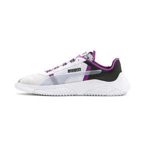 Thumbnail 1 of PUMA x PIRELLI Replicat-X Sneaker, White-Hyacinth Viol-Red, medium