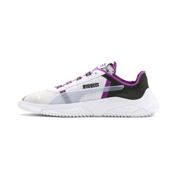 PUMA x PIRELLI Replicat-X Sneaker, White-Hyacinth Viol-Red, large