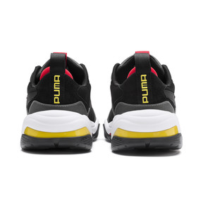 Thumbnail 3 of Ferrari Thunder Trainers, Puma Black-Rosso Corsa, medium