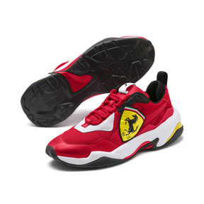Thumbnail 2 of Ferrari Thunder Trainers, Rosso Corsa-Puma White, medium