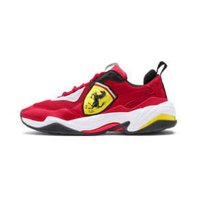 Thumbnail 1 of Ferrari Thunder Trainers, Rosso Corsa-Puma White, medium