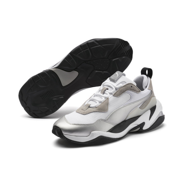 Basket BMW Thunder pour homme, Puma White-Puma Silver, large