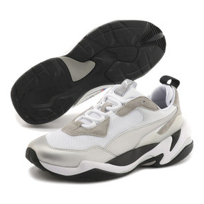 Thumbnail 2 of BMW MMS Thunder Sneakers, Puma White-Puma Silver, medium