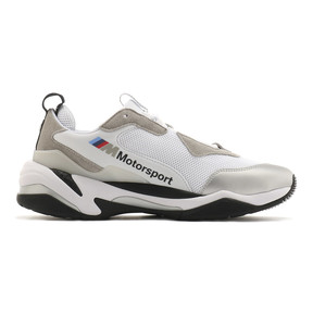 Thumbnail 5 of BMW MMS Thunder Sneakers, Puma White-Puma Silver, medium