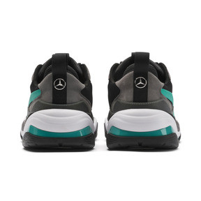 Thumbnail 3 of Mercedes AMG Petronas Thunder Men's Trainers, Puma Black-Spectra Green, medium