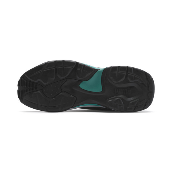 Mercedes AMG Petronas Thunder Men's Trainers, Puma Black-Spectra Green, large