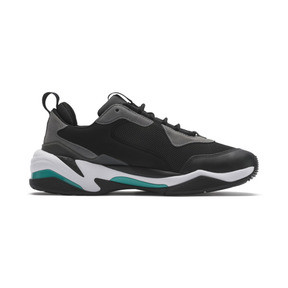 Thumbnail 5 of Mercedes AMG Petronas Thunder Men's Trainers, Puma Black-Spectra Green, medium