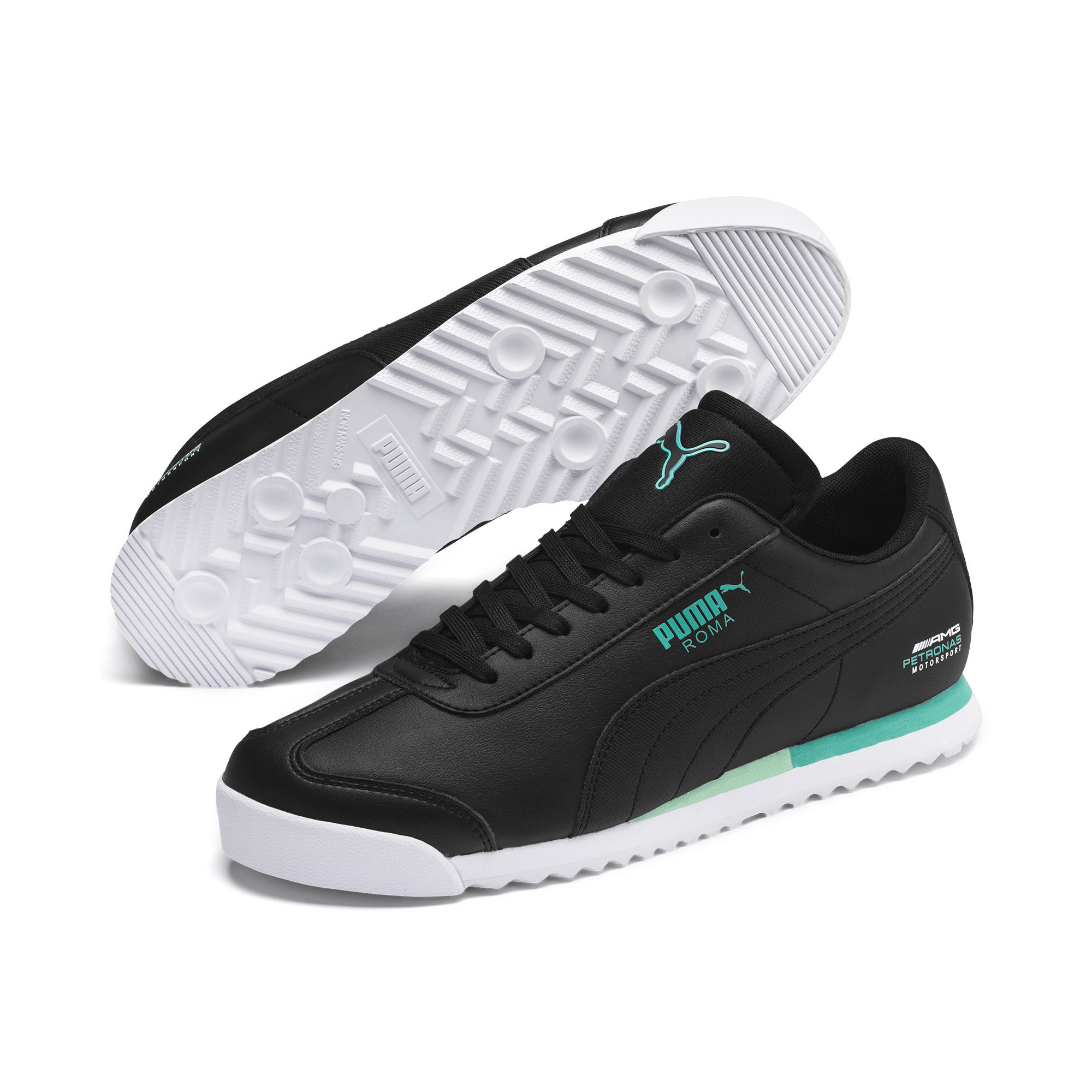 Details about PUMA Men's Mercedes AMG Petronas Roma Sneakers