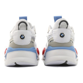 Thumbnail 3 of RS-X BMW MMS Sneakers, White-Gray Violet-Hgh Rsk Rd, medium
