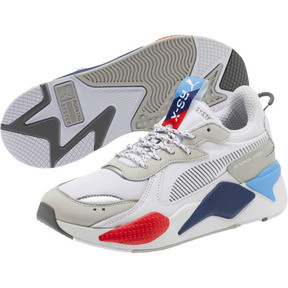 Thumbnail 2 of RS-X BMW MMS Sneakers, White-Gray Violet-Hgh Rsk Rd, medium