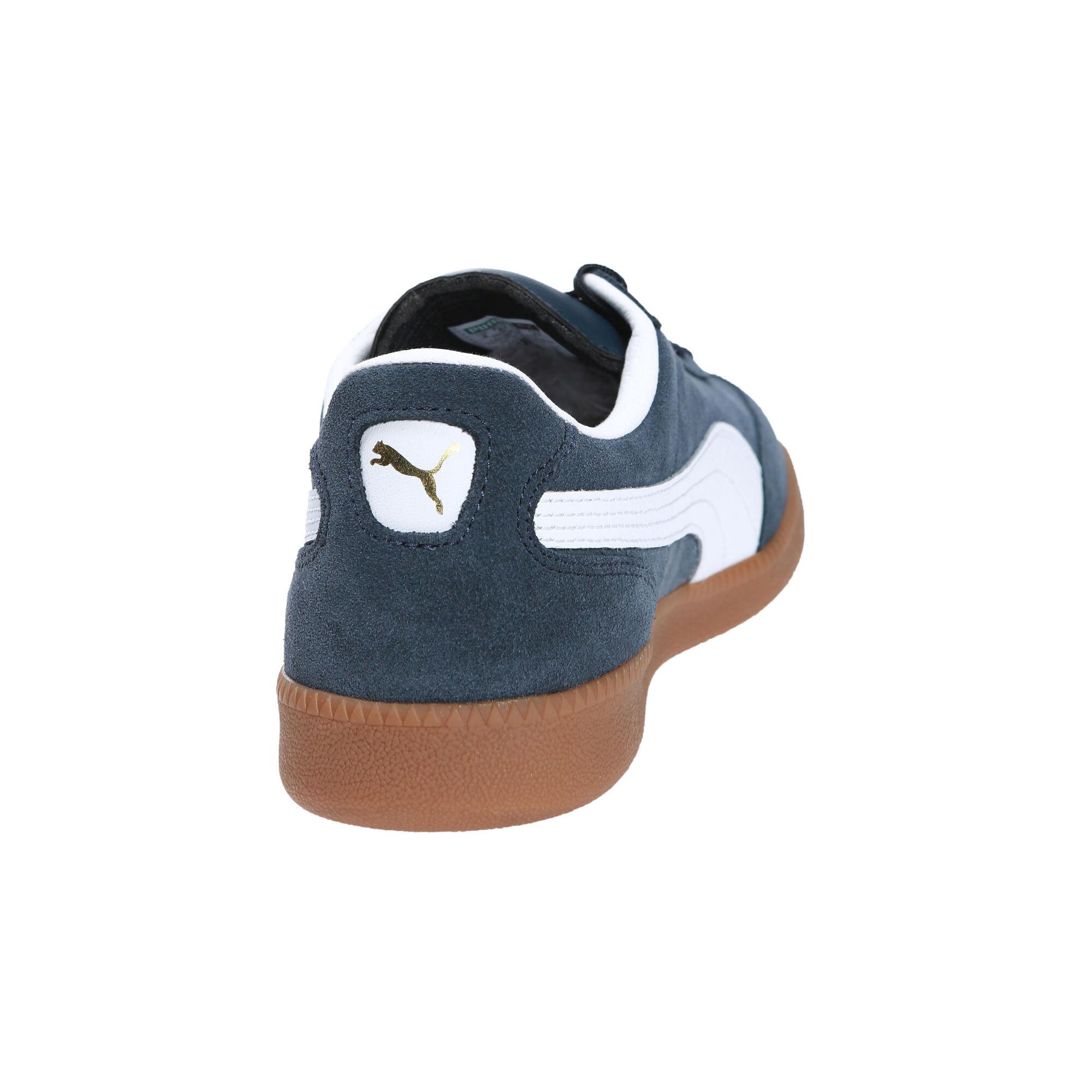 Image Puma Men's Liga Suede Sneakers #4