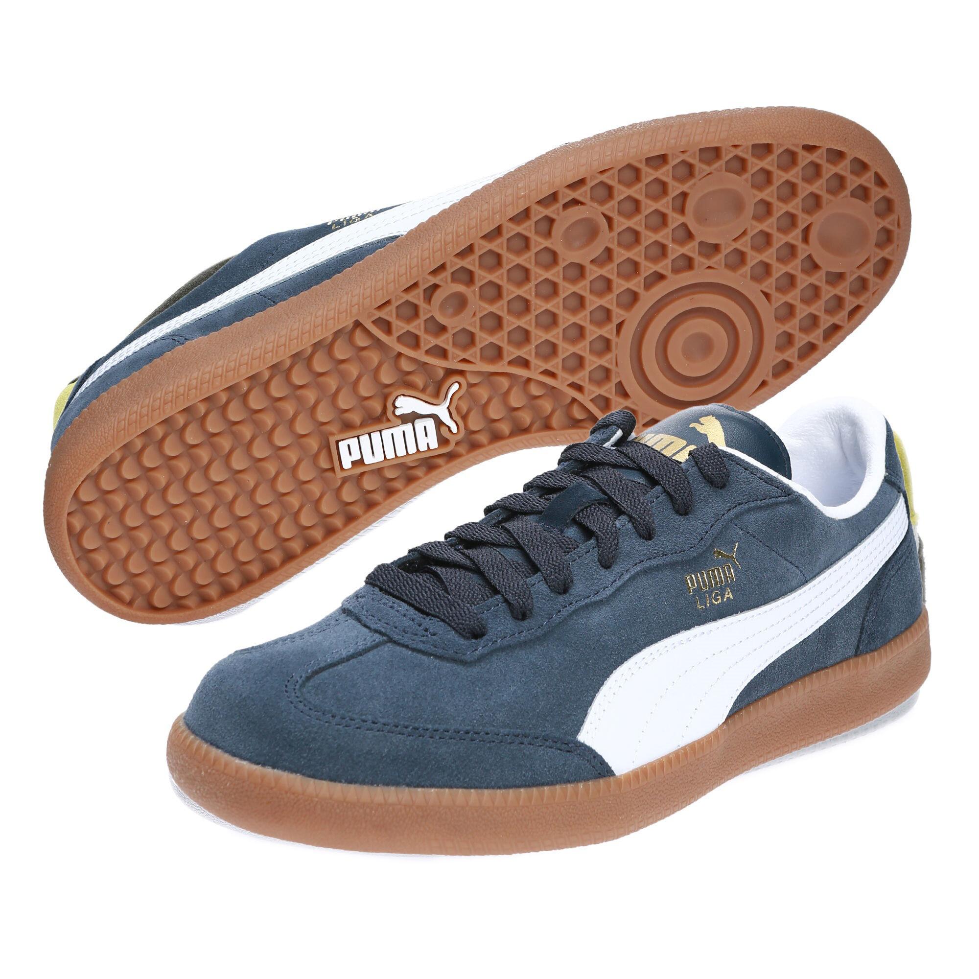 Image Puma Men's Liga Suede Sneakers #2