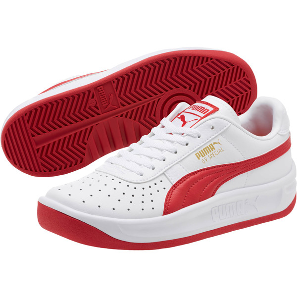 GV Special Sneakers JR, Puma White-Ribbon Red, large