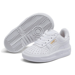 Thumbnail 2 of GV Special Toddler Shoes, Puma White-Puma Team Gold, medium