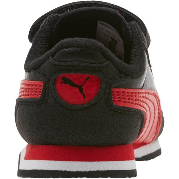Zapatos Cabana Racer SL para bebés, Puma Black-High Risk Red, grande