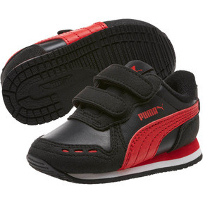 Thumbnail 2 of Cabana Racer SL Toddler Shoes, Puma Black-High Risk Red, medium