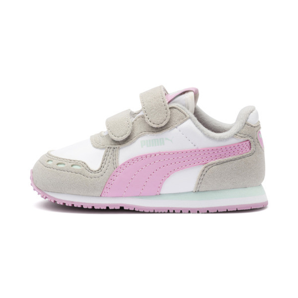 Cabana Racer SL Sneakers INF, Puma White-Gray Violet, large