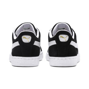 Thumbnail 3 of Suede Classic+ Sneaker, black-white, medium