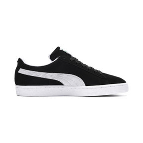 Thumbnail 5 of Suede Classic+ Men's Trainers, black-white, medium